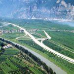 San Michele interchange - Image of the S.Michele-Mezzocorona interchange north of Trento
